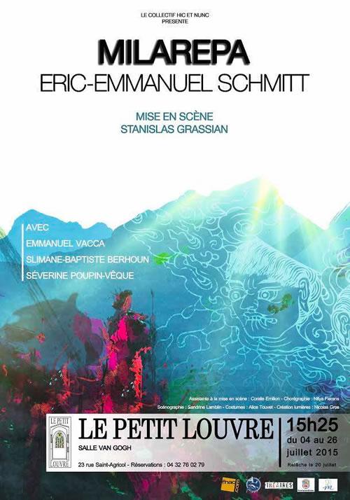 milarepa-eric-emmanuel-schmitt-off-avignon-affiche