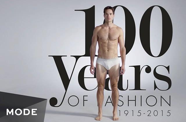 Cent ans de mode américaine masculine en trois minutes (et en vidéo)