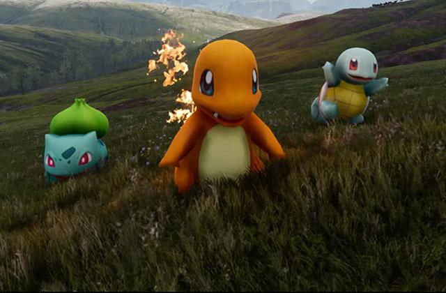 Des Pokémon hyper-réalistes créés par un youtubeur grâce à Unreal Engine 4