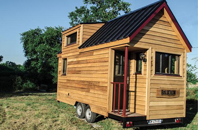 le projet baluchon la belle aventure tiny house de. Black Bedroom Furniture Sets. Home Design Ideas