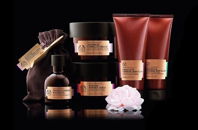 SPA of the World, la nouvelle gamme pour le corps de The Body Shop