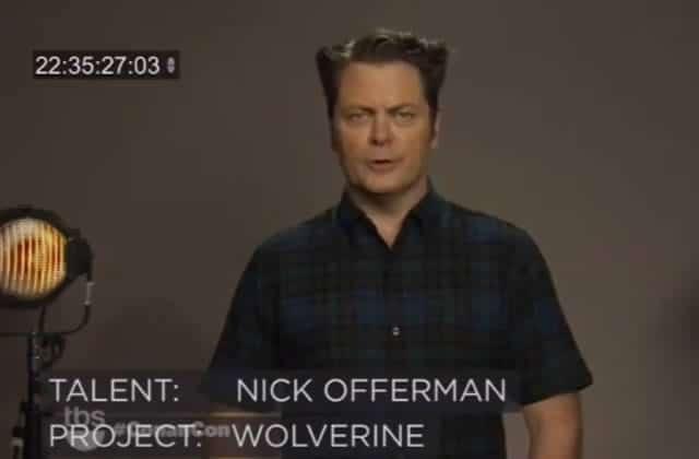 Nick Offerman, Kristen Schaal et d'autres stars endossent le rôle de Wolverine