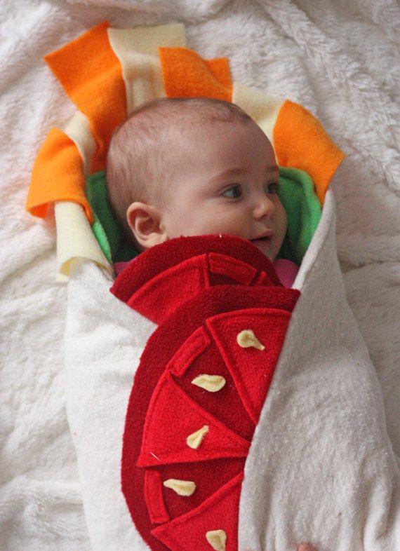 Bebe-burrito