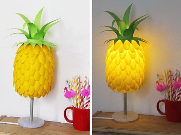 DIY_lampe_ananas