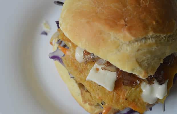 burger galettes pomme de terre