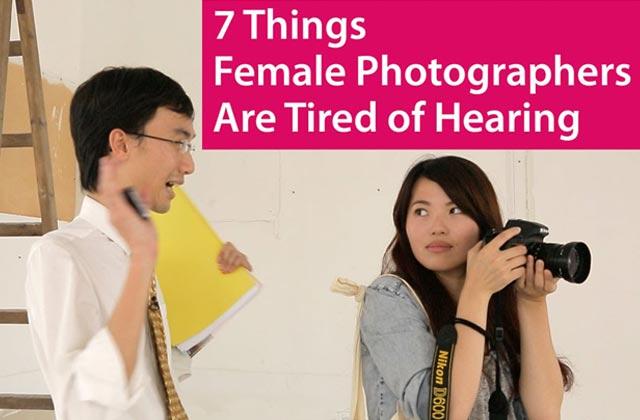 Ces clichés que les femmes photographes en ont marre d'entendre