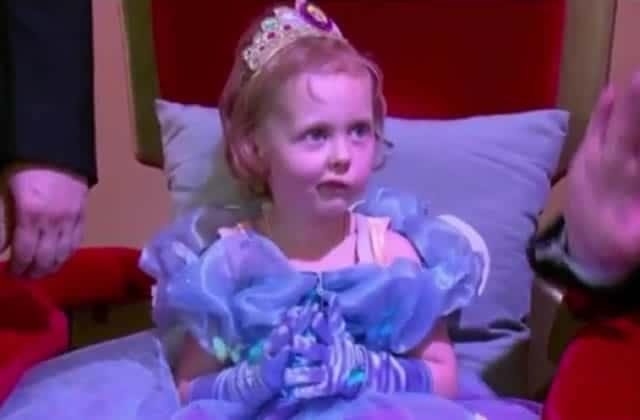 Une dernière fête d'anniversaire inoubliable pour une petite fille atteinte d'un cancer