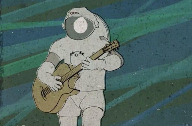 «Feet Up», le premier single de l'astronaute Chris Hadfield, enregistré dans l'espace