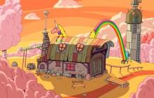 Get the Déco — La maison de Lady Rainicorn dans Adventure Time