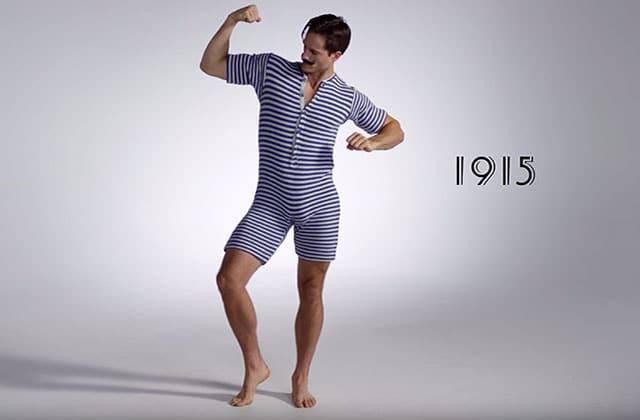 L'histoire des maillots de bain masculins en vidéo, avec « 100 Years of Men's Swimwear »