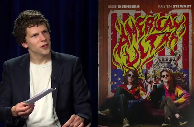 Kristen Stewart et Jesse Eisenberg moquent le sexisme des interviews d'actrices, pour la promo de «American Ultra»