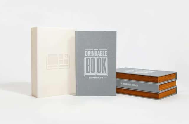 The Drinkable Book, un livre qui rend potable l'eau contaminée