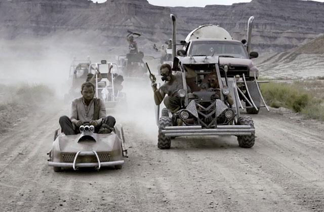 « Mad Max : Fury Road» recréé avec des karts et du paintball