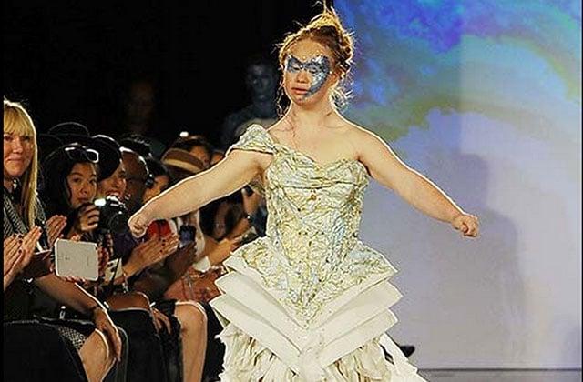 Madeline Stuart, la jeune mannequin trisomique a défilé à la Fashion Week de New York !