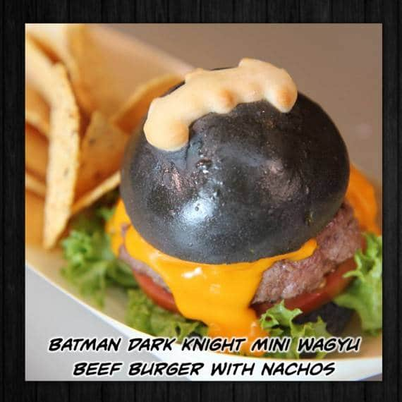 menu batman