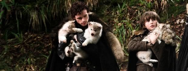 robb-stark-bran-stark-wolves