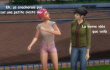 Mymy et la quête de la Sainte Sieste — Les aventures de la rédac en Sims
