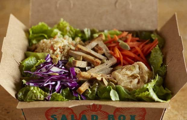 salade végétarienne amy's drive