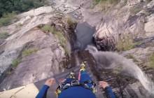 Le saut dans l'eau le plus fou du monde, filmé à la GoPro