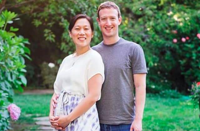 Mark Zuckerberg profite de l'annonce de la grossesse de sa femme pour évoquer ses fausses couches
