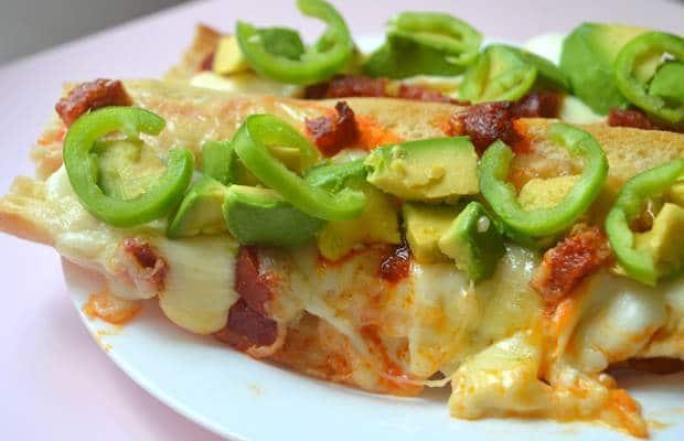 baguette fromage piment vert