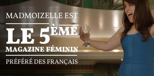 madmoiZelle est le 5ème magazine féminin préféré des Français \o/