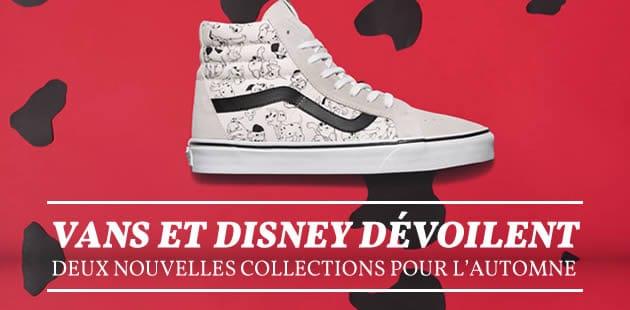 Vans et Disney dévoilent deux nouvelles collections pour l'automne 2015