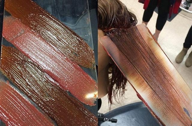 La coloration au couteau à mastiquer, la tendance à suivre