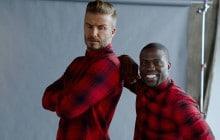 David Beckham et Kevin Hart réunis pour la nouvelle campagne H&M