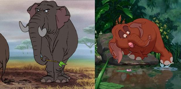 Les l phants dans la pop culture ces animaux gentils et - Dessin elephant rigolo ...