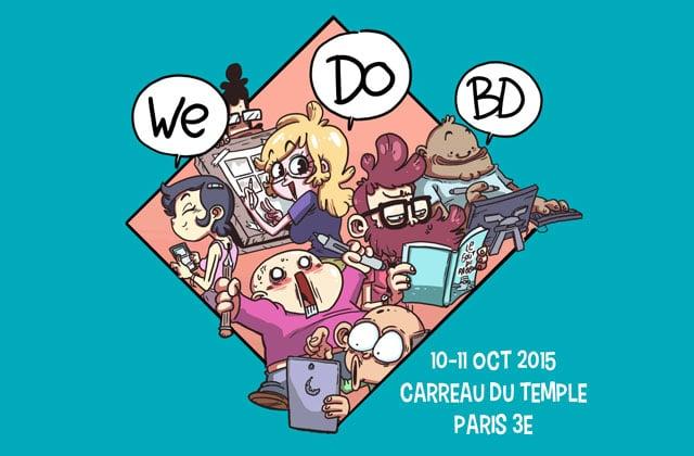 Le festival We Do BD 2015 (Festiblog), c'est ce week-end à Paris!
