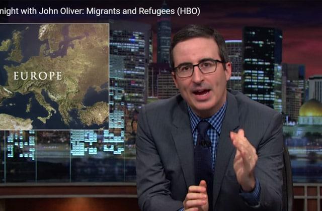 John Oliver analyse la crise des réfugiés (+ traduction française de sa vidéo)