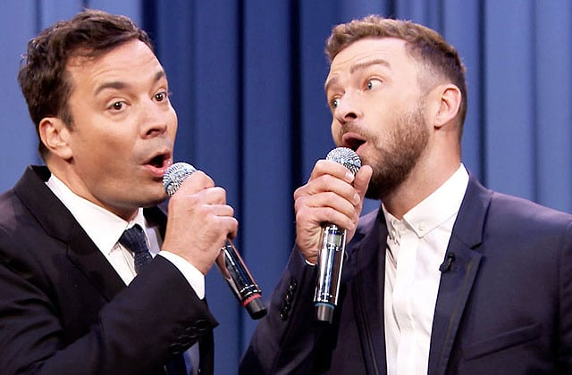 Justin Timberlake et Jimmy Fallon mettent le feu sur un rap
