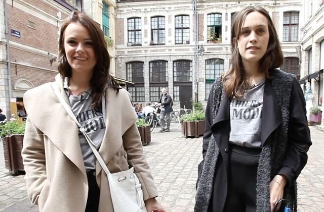 Laurine et Pauline en Street Style
