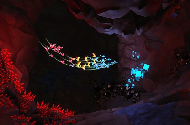 «Lumini», un jeu vidéo apaisant et si joli