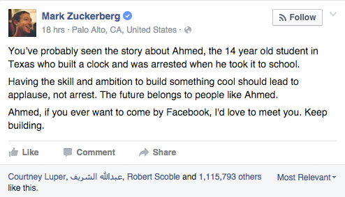 mark-zuckerberg-ahmed-mohamed