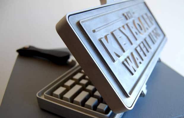 moule à gaufre clavier
