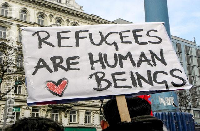 Les réfugiés soutenus par une appli et un… Guide du Routard