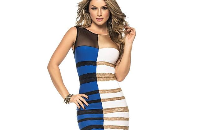 La robe bleue (ou blanche) qui a traumatisé le Web devient un costume d'Halloween