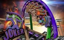 Le roller-coaster Joker, pour avoir le cœur qui faiblit façon asile d'Arkham