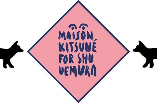 Shu Uemura et Kitsuné collaborent pour une collection de maquillage
