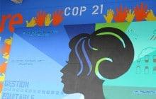L'association CARE dévoile un street-art parisien pour la COP21