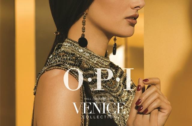 Venice, la nouvelle collection d'OPI pour l'automne-hiver 2015
