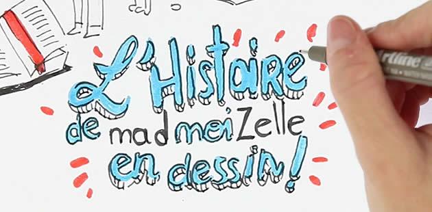 Le Draw My Life de madmoiZelle ! #BonAnnivMad