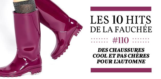 Des chaussures cool et pas chères pour l'automne 2015 — Les 10 Hits de la Fauchée #163