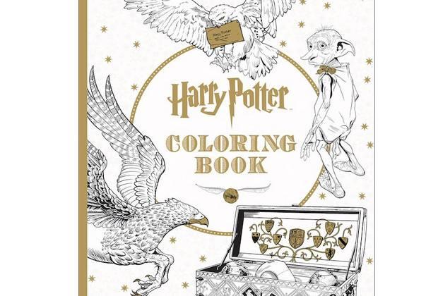 Le Cahier De Coloriages Harry Potter Ou La Coolitude Incarnee