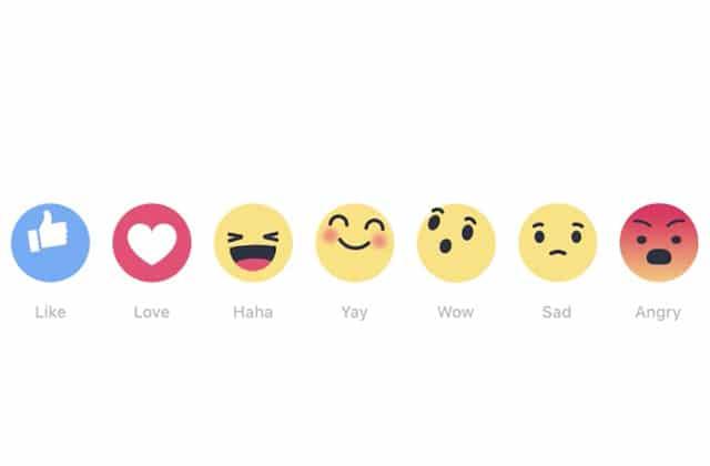 Facebook teste une alternative au bouton «J'aime»