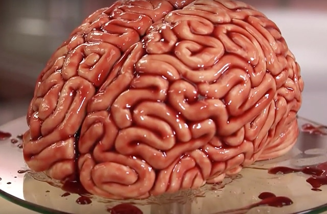 Le g teau cerveau une recette la walking dead pour - Recette dessert halloween ...