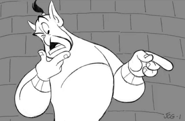 Le génie d'«Aladdin» joué par Robin Williams de retour dans des scènes coupées