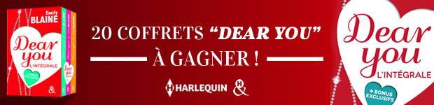 harlequin concours dear you madmoizelle